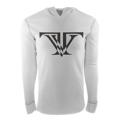 Tunnel Vision Hooded Thermal: White/Black