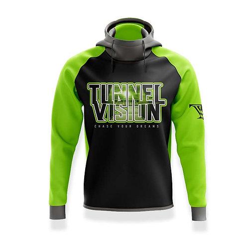 Tunnel Vision Stadium Hoodie: Green