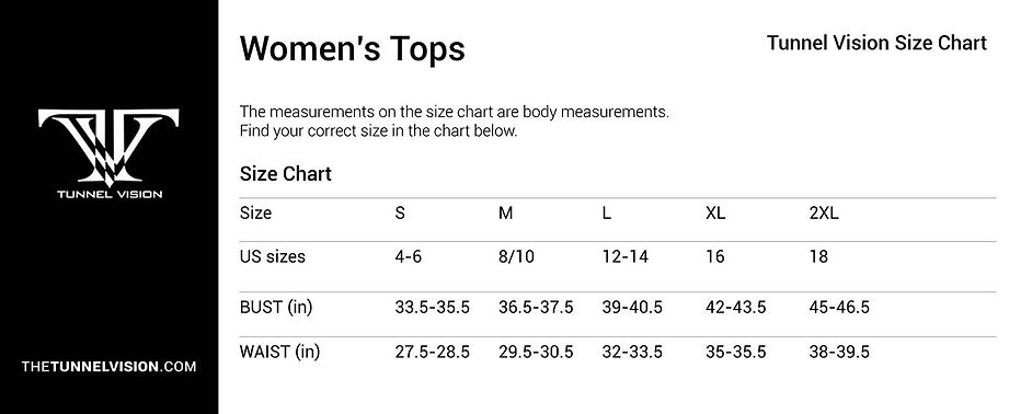 Women's Tops_Size Chart_tunnel vision.jp
