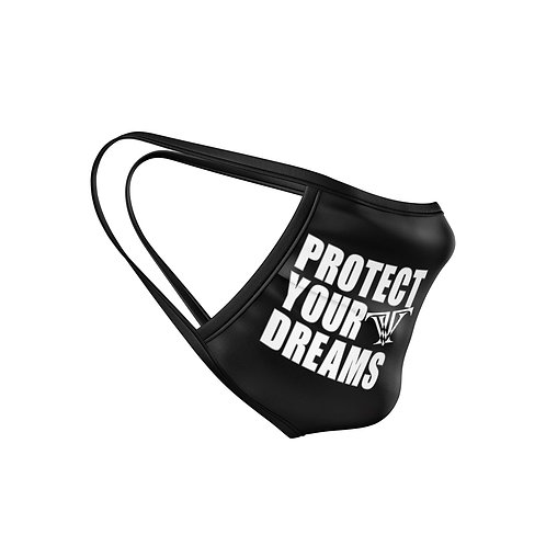 Protect Your Dreams Mask: Black