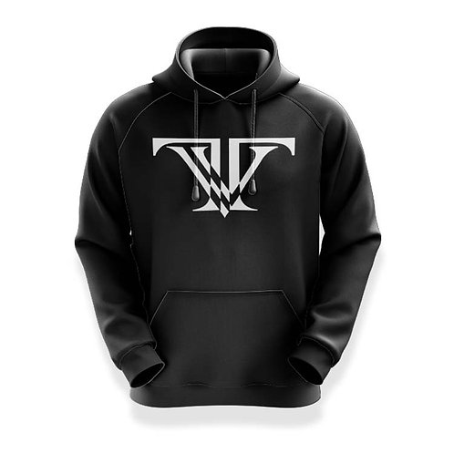 Tunnel Vision Classic Hoodie: Black