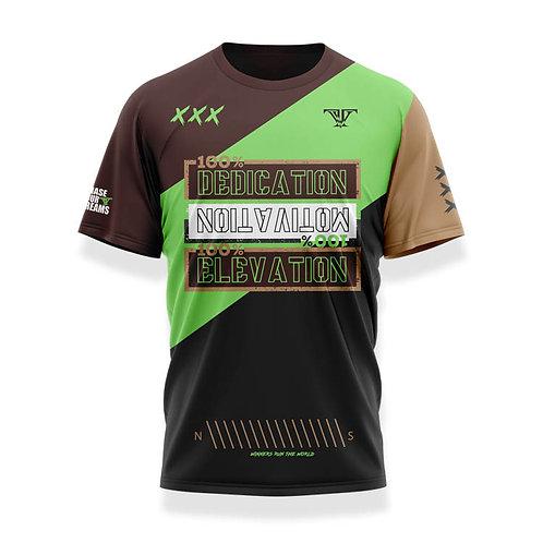 100% Dedication Shirt: Brown