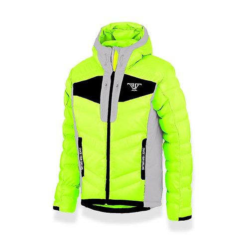 Olympic Coat: Neon