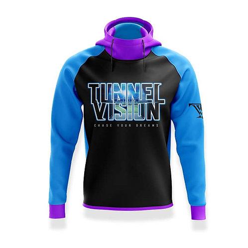 Tunnel Vision Stadium Hoodie: blue