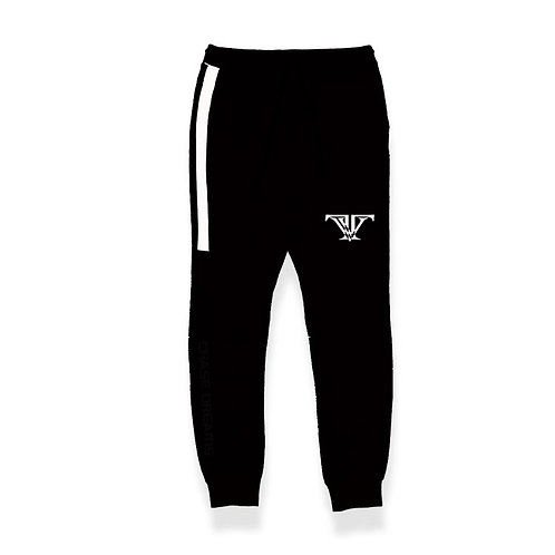 Chase Your Dreams Joggers: Black