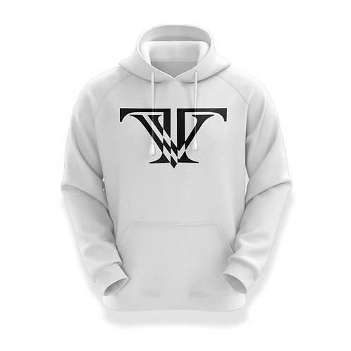 Tunnel Vision Classic Hoodie:white