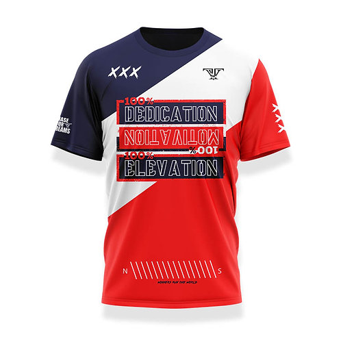 100% Dedication Shirt: Red