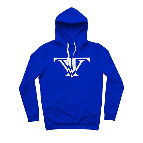 Tunnel Vision Classic light Hoodie: Royal Blue