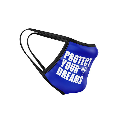 Protect Your Dreams Mask: Blue