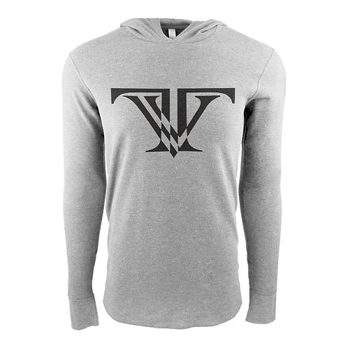 Tunnel Vision Thermal: Gray with black logo