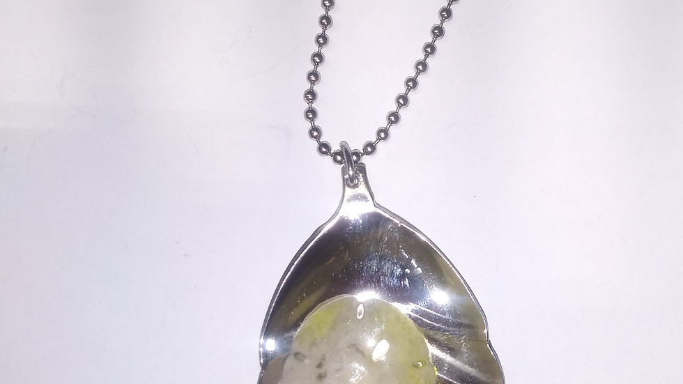Beach inspired spoon necklace
