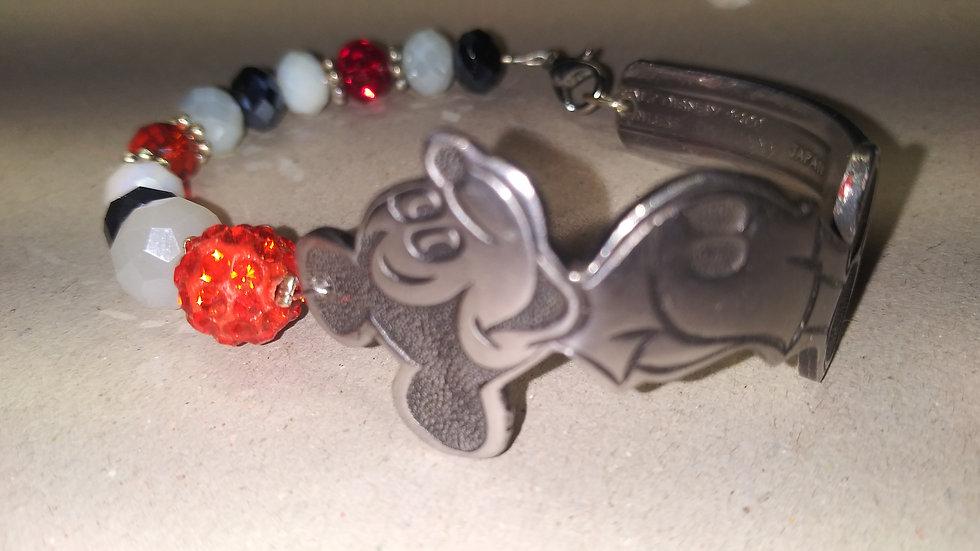 Mouse spoon bracelet