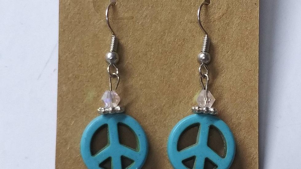Peace ✌ earrings