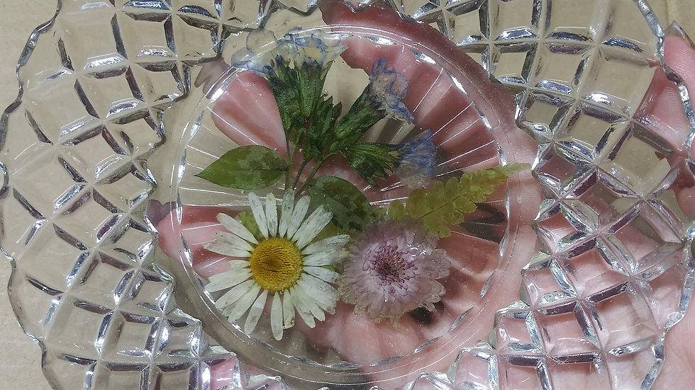Dried flower dish