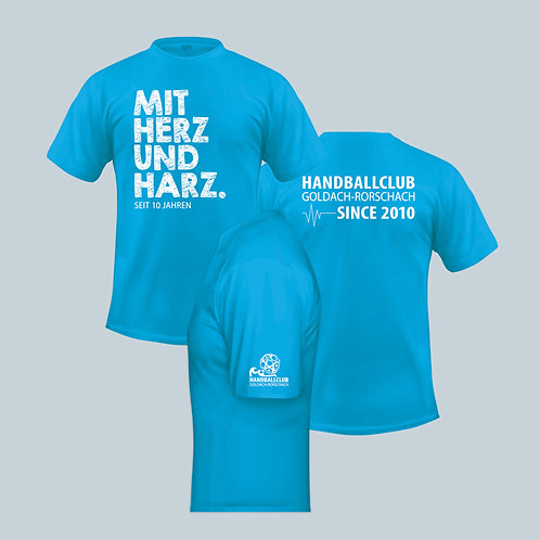 Jubiläums-Shirt BLAU