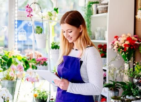 Hora de revisar sua loja de flores e presentes