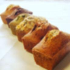 小さいサイズのパウンドケーキを焼きました。_#パウンドケーキ#オーガニック#有機