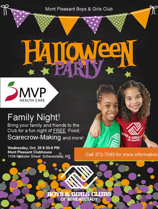 MVP Family Night @ Mont Pleasant BGC