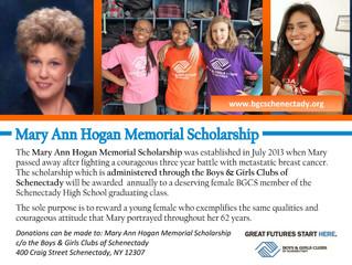 Hogan Memorial Scholarship