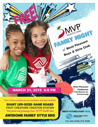 MVP Family Night at Mont Pleasant Club
