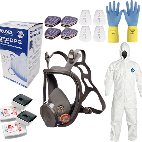 Large Maxi Respirator Kit - Full Face