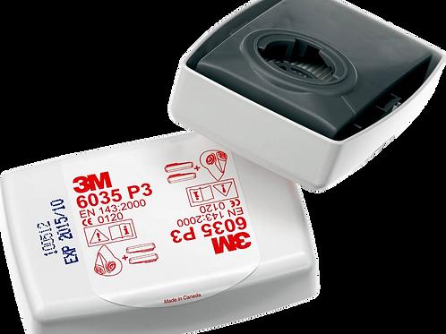 3M 6035 P2/P3 Particulate Filter Pair