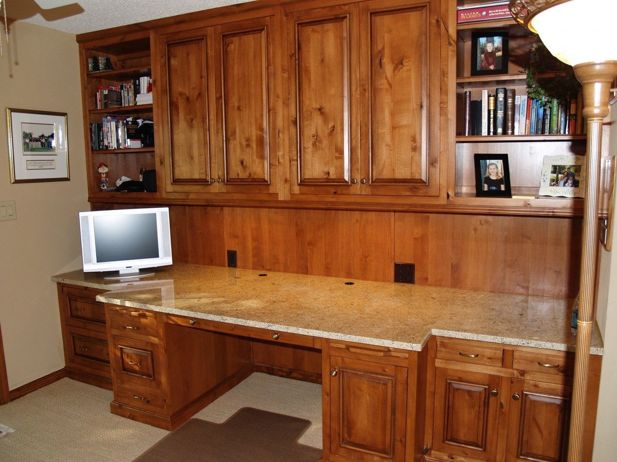 Open Area Granite Workstation