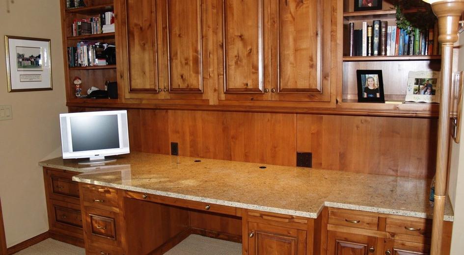 Open Area Granite Workstation