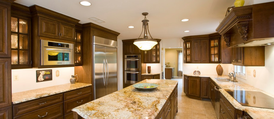 Full Kitchen Granite Countertop