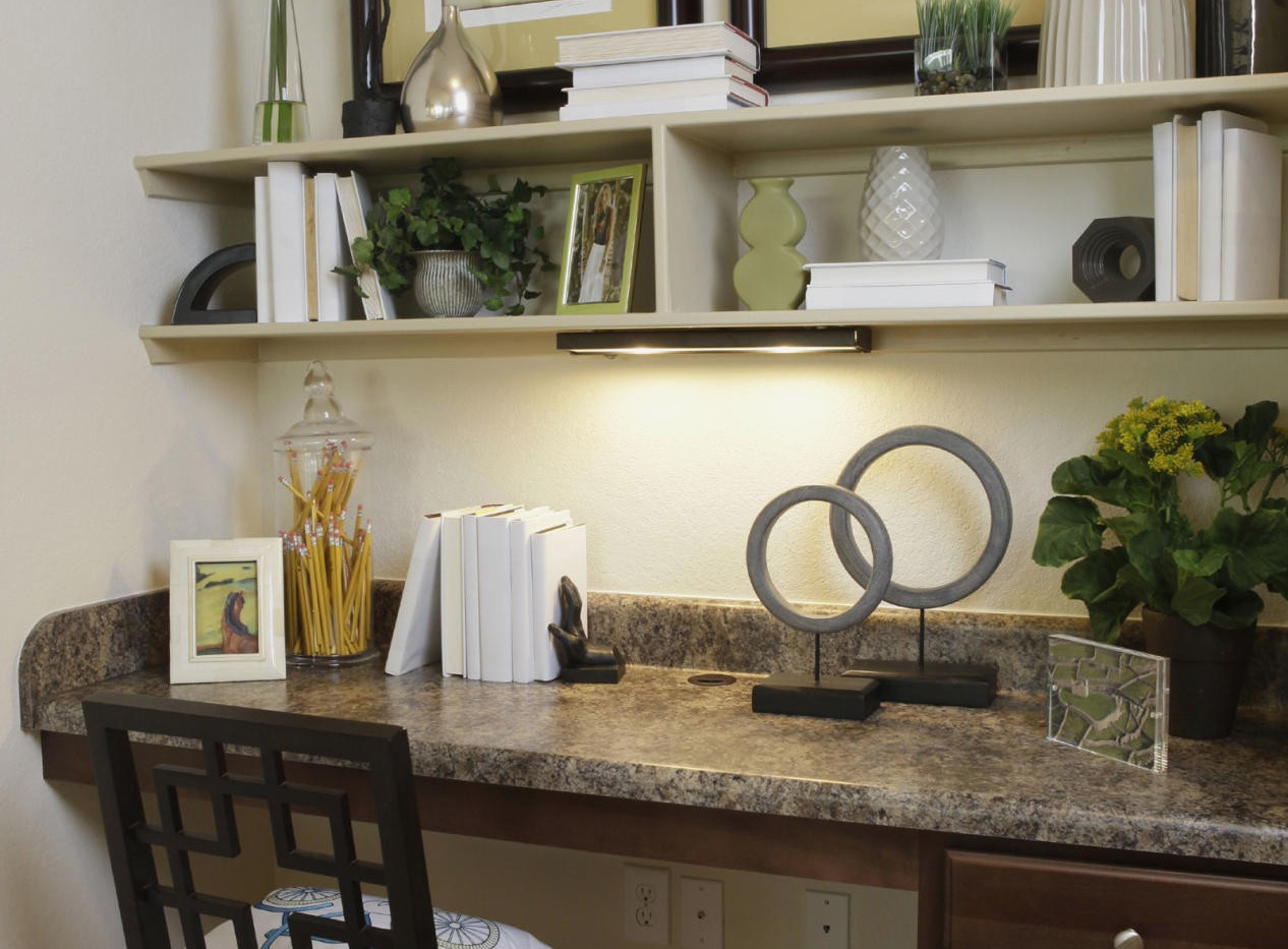 Home Office Granite Countertop