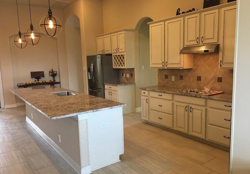 Full Granite Kitchen