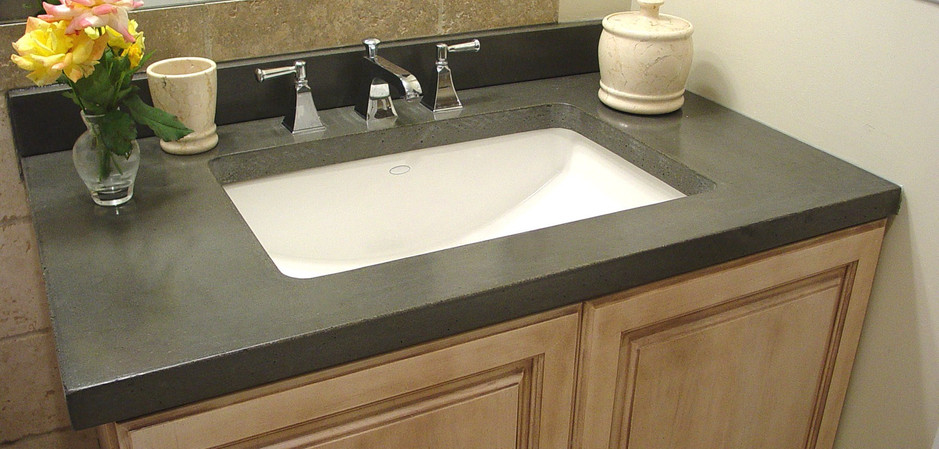 Clean and Modern Granite Vanity Top