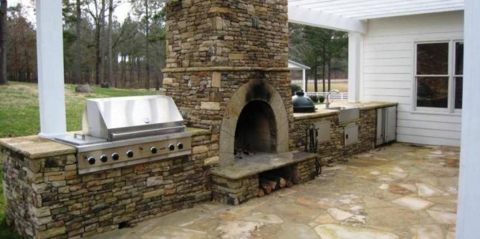 Beautiful Granite Outdoor Patio