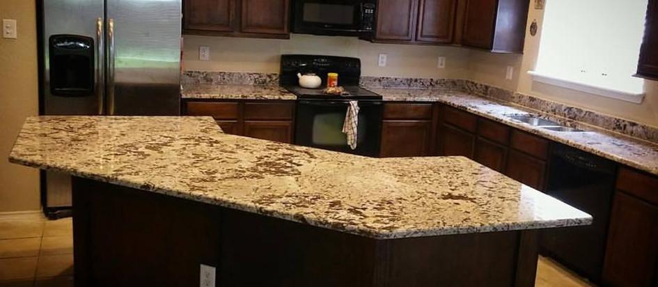 Bianco Antico granite kitchen