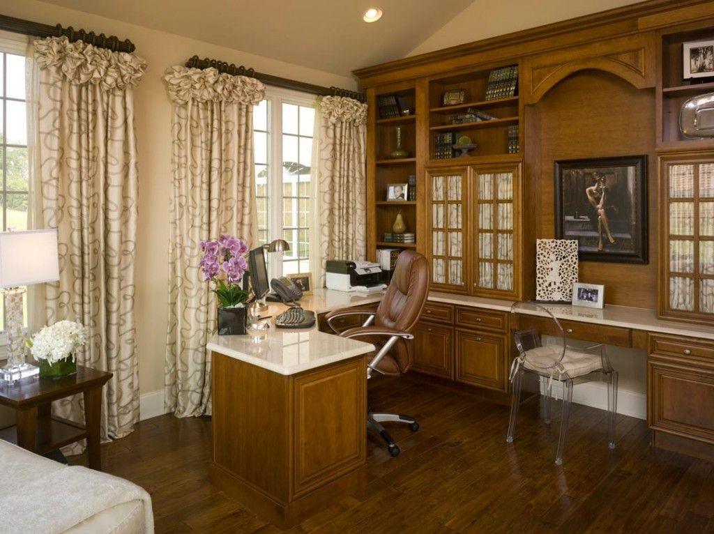 Beautiful Granite Home Office