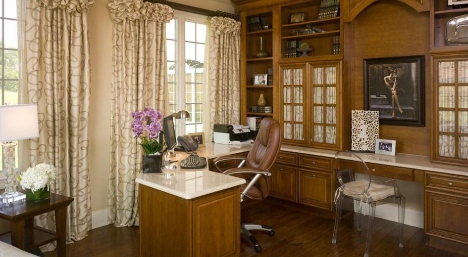 Beautiful Granite Home Office