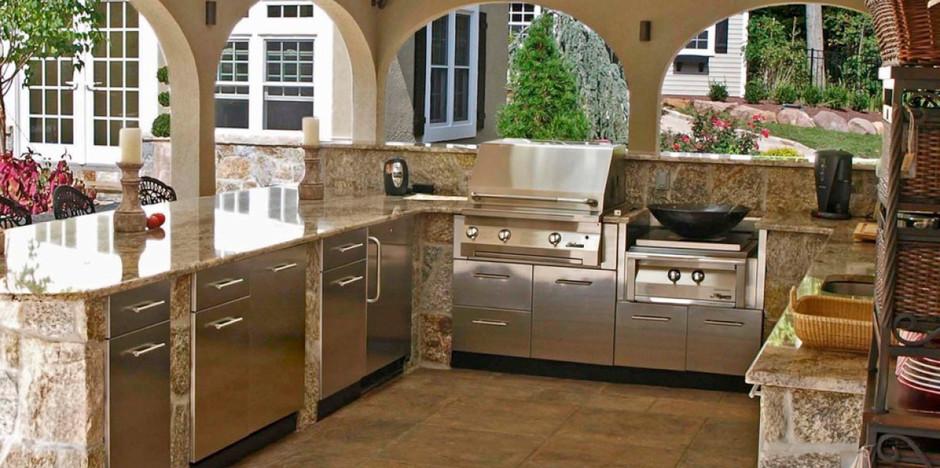 Granite Kitchen Patio Countertop