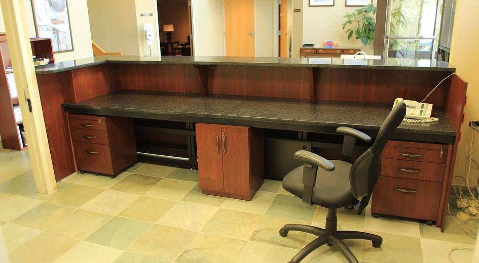 Verde Granite Desk Countertop