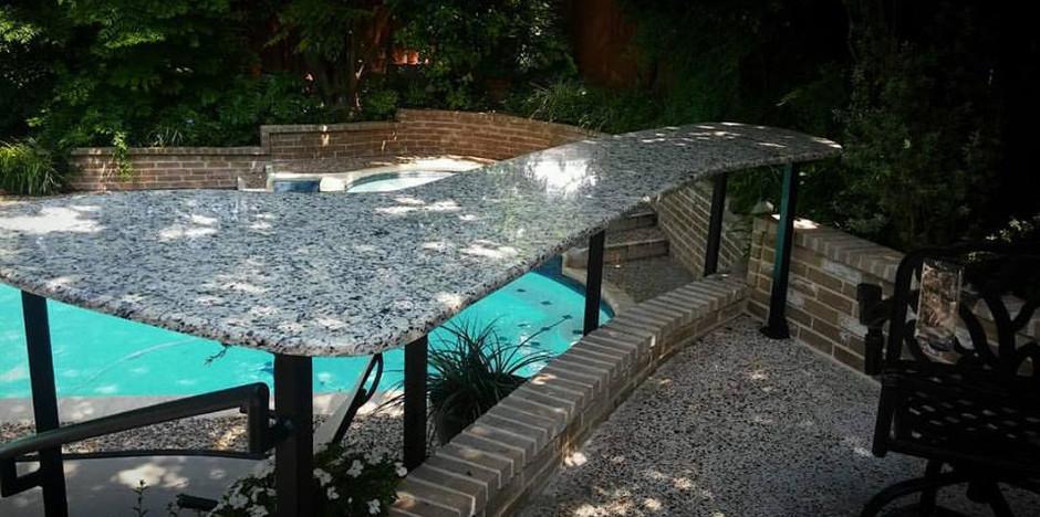 Granite Poolside Bar