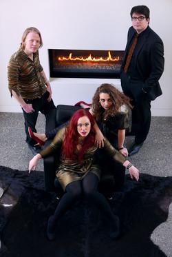 Scarlet Lies (Fireplace)