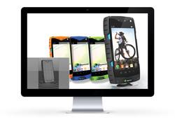 Rugged smart phone