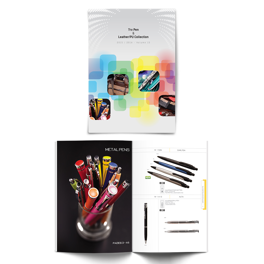 Corporate gifting catalogue