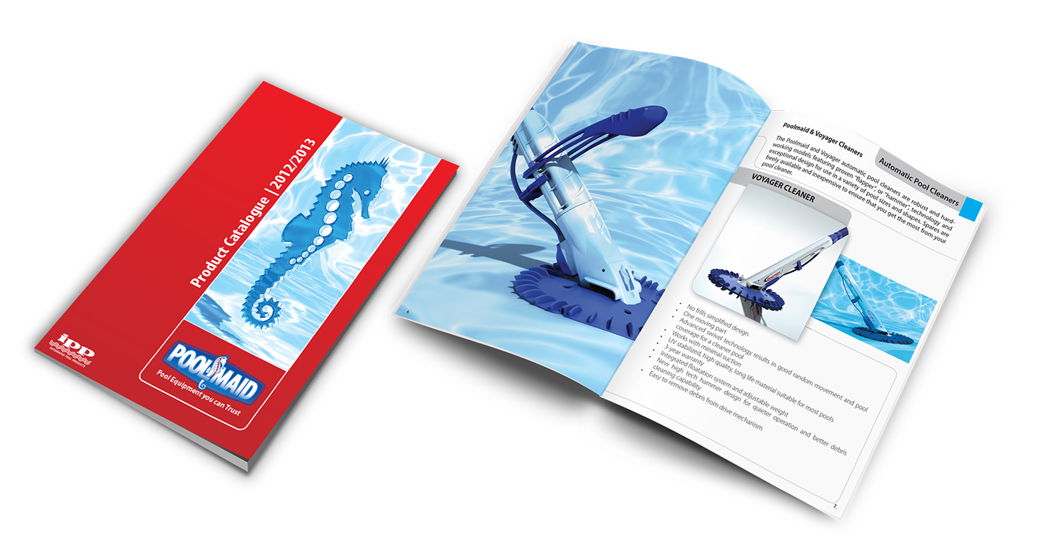 Pool cleaner product brochure