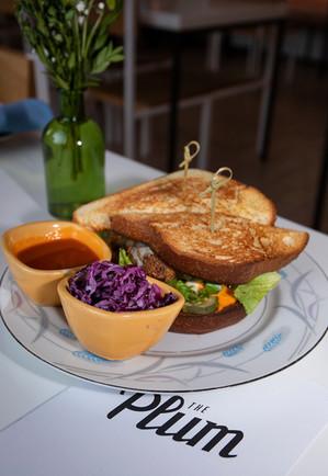 Fried Chicken Sandwich - The Plum