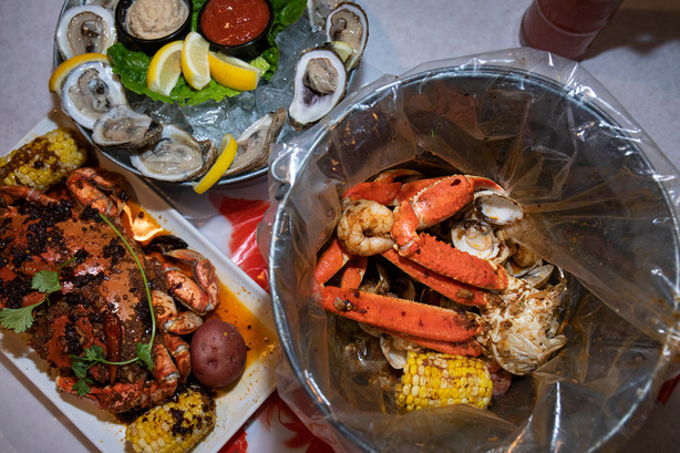 Seafood Shake - Seafood Boil