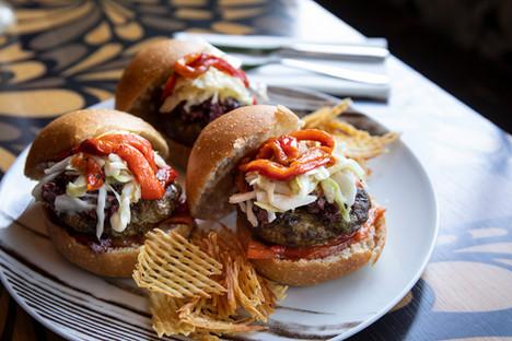Moroccan Sliders - Rood Food