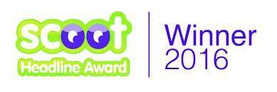 Seoflatrate.co.uk Scoot Headline Award Winners 2016