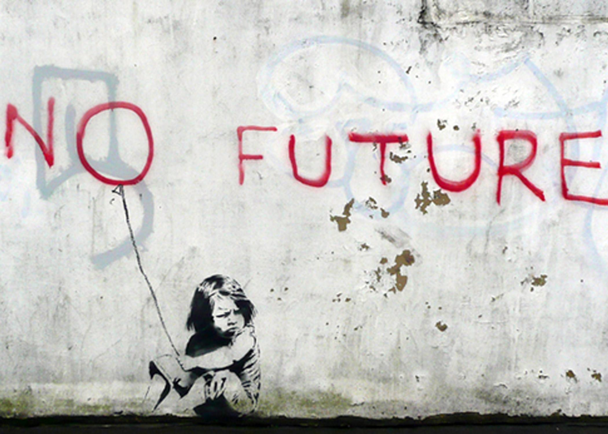 No future_Bansky