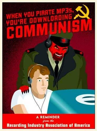anti-Communist comics from 60's