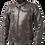 Thumbnail: Helite Roadster Leather Airbag Jacket - [Vintage-Brown]